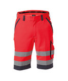 Dassy Lucca korte broek Rood/grijs