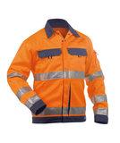 Dassy Dusseldorf veiligheidsjas Oranje/navy