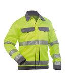 Dassy Dusseldorf veiligheidsjas Geel/grijs