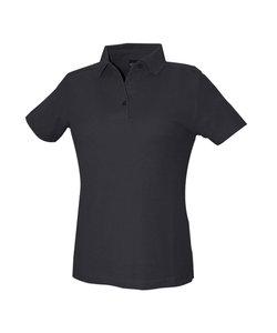 Dassy polo dames zwart