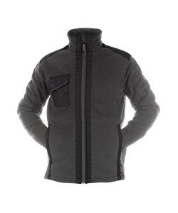Croft fleece jas Grijs/zwart