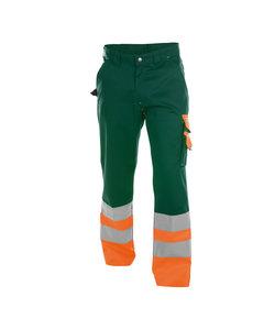 Dassy Ohama werkbroek Oranje/groen