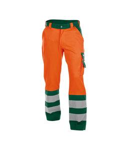 Dassy Lancaster werkbroek Oranje/groen