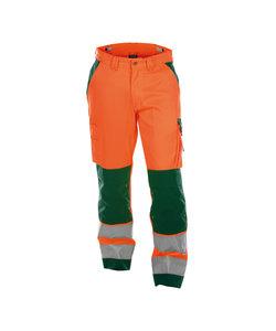 Dassy Buffalo werkbroek Oranje/groen