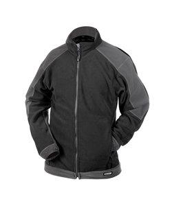 Dassy Kazan fleece vest Zwart/grijs