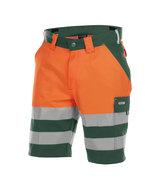 Dassy Venna korte broek Oranje/groen