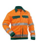 Dassy Dusseldorf veiligheidsjas Oranje/groen